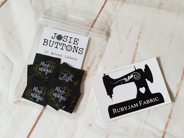 Made with Magic - Labels by Josie Buttons