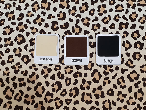 Animal Print - cotton lycra - 150cm wide