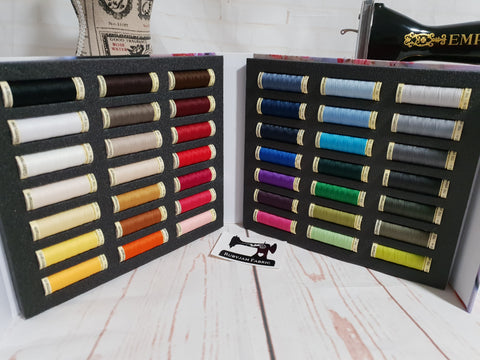 Gutermann Sew-All Thread - Presentation Case - 42 Spools x 100M