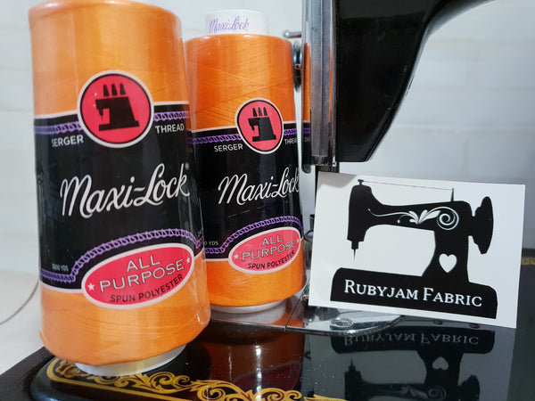 Maxi-Lock All Purpose Thread - Papaya (orange)