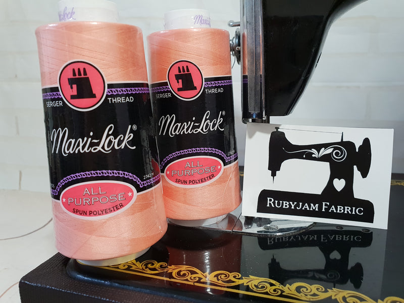 Maxi-Lock All Purpose Thread - Salmon Pink