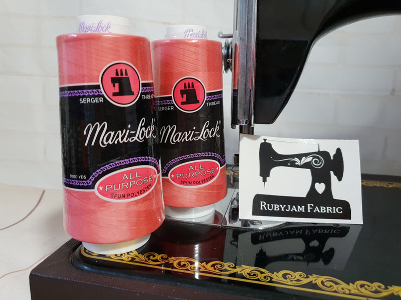 Maxi-Lock All Purpose Thread - Pink Coral