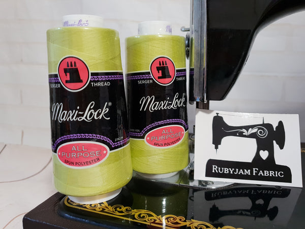 Maxi-Lock All Purpose Thread - Sour Apple