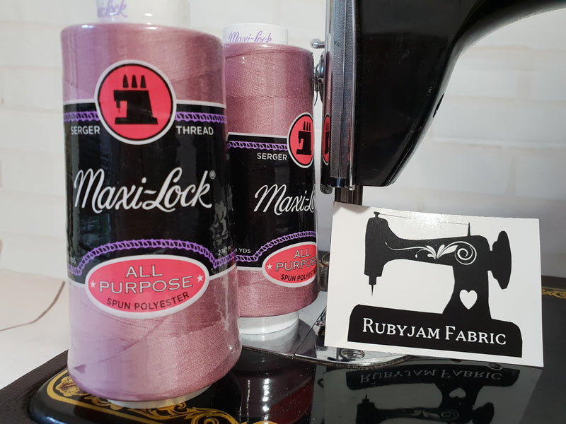 Maxi-Lock All Purpose Thread - Roseate (pinkish purple)