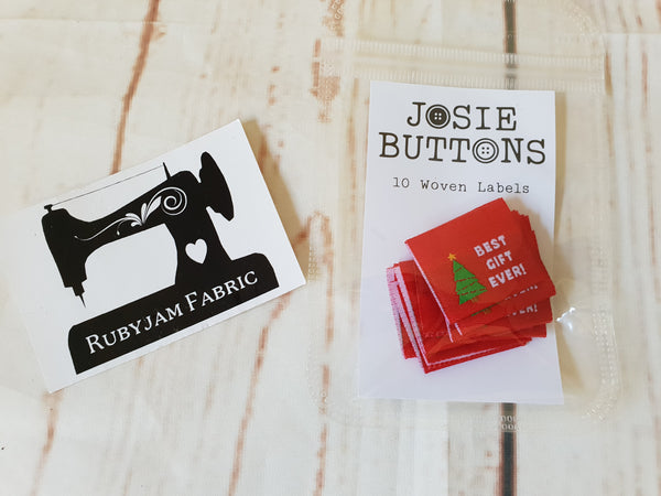 Best Gift Ever - Labels by Josie Buttons