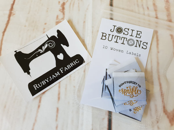 Don't Forget to Sparkle - Labels by Josie Buttons