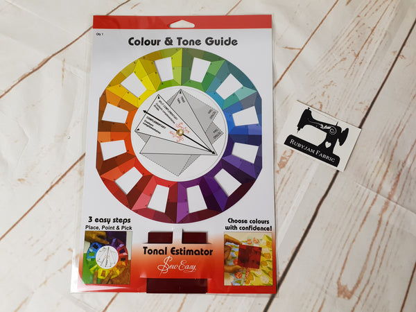 Sew Easy Colour and Tone Guide - Tonal Estimator