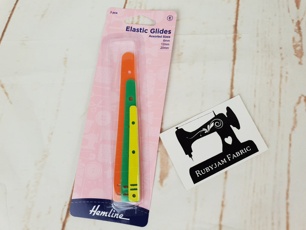 Hemline Elastic Glides - 3 pack - thread elastic with ease