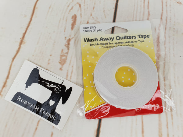 Sew Easy Wash Away Quilters Tape / Hemming Tape