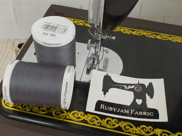 1000M Gutermann Sew-All - CHARCOAL GREY - #701