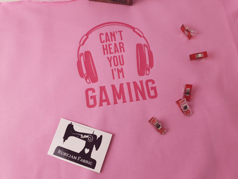 Can't Hear You I'm Gaming - PINK - Panels On Demand