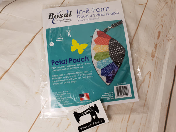 Bosal In-R-Form Double Sided Fusible - Petal Pouch - clearance