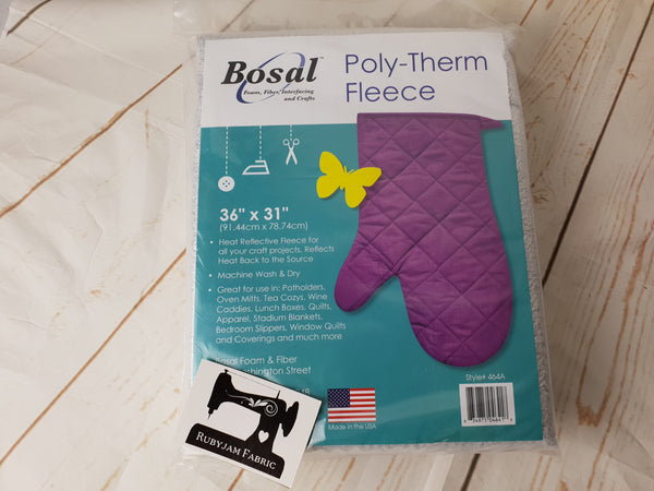 "Bosal Poly-Therm Fleece - 36"" x 31"" (91.44cm x 78.74cm) - clearance"