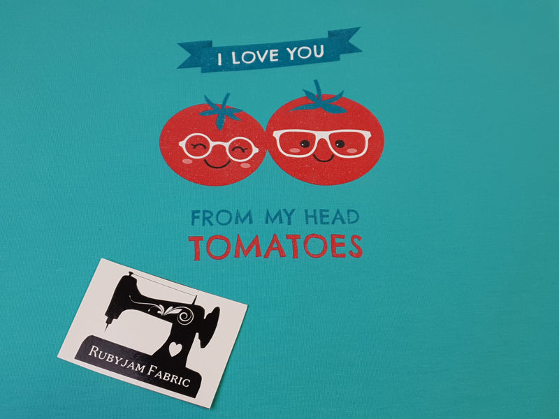 Love You Tomatoes - MINT - Panels On Demand