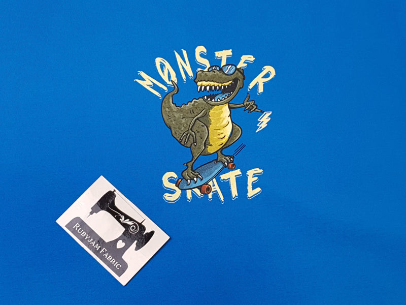 Monster Skate - TURQUOISE - Panels On Demand
