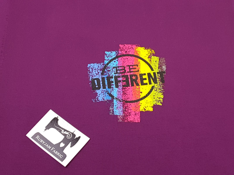 Be Different - PURPLE - Panels On Demand