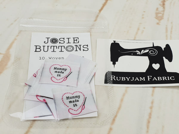 Mummy Made It - Labels by Josie Buttons