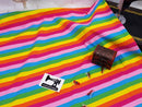 Summer Stripes - Yarn Dyed Stripes - cotton lycra - 180cm wide