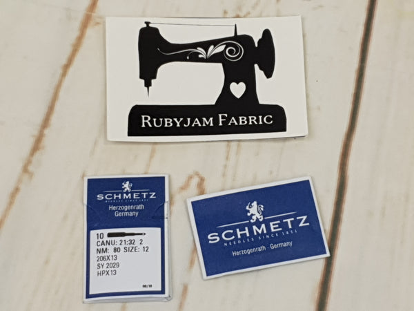 Schmetz 206x13 Universal Needles Size 80/12 - for 206, 306, 319 and 320 vintage sewing machines
