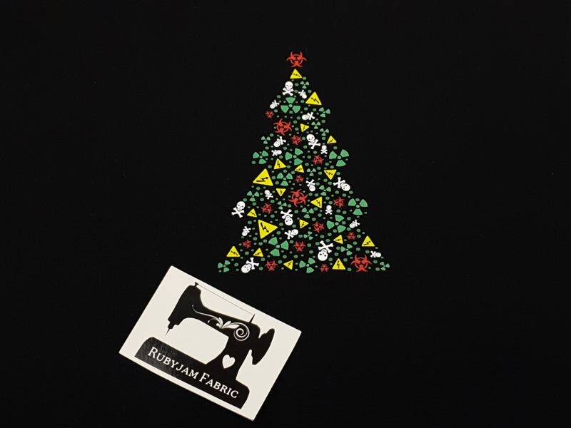 Toxic Christmas Tree - BLACK - Panels On Demand
