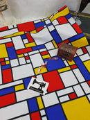 Mondrian - cotton lycra - 150cm wide