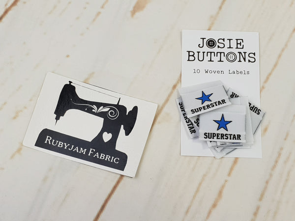 Superstar - Labels by Josie Buttons