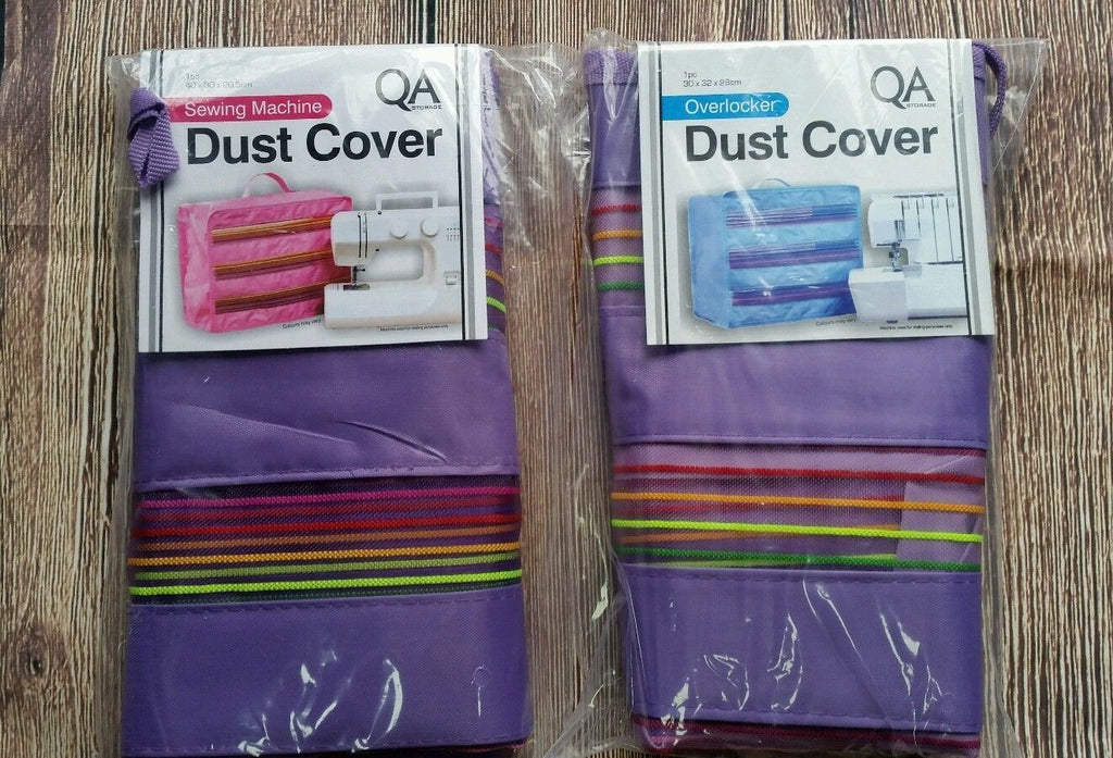 QA Overlocker Dust Cover - lavender or teal - clearance