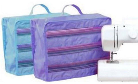 QA Sewing Machine Dust Cover - lavender or teal - clearance