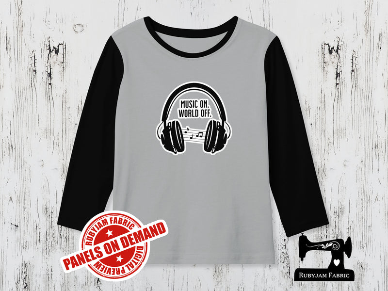 Music On, World Off - HEATHER GREY - Panels On Demand