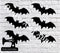 Halloween Bats - Cutting File - SVG/JPG/PNG