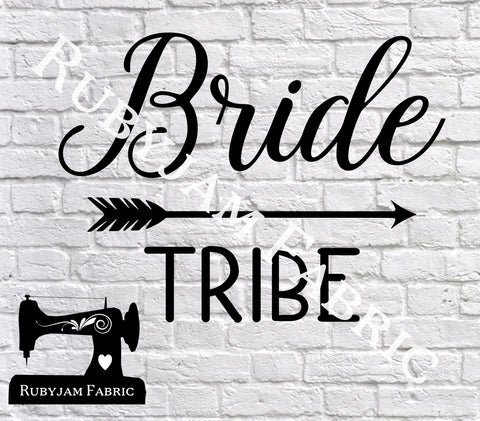 Bride Tribe - Cutting File - SVG/JPG/PNG