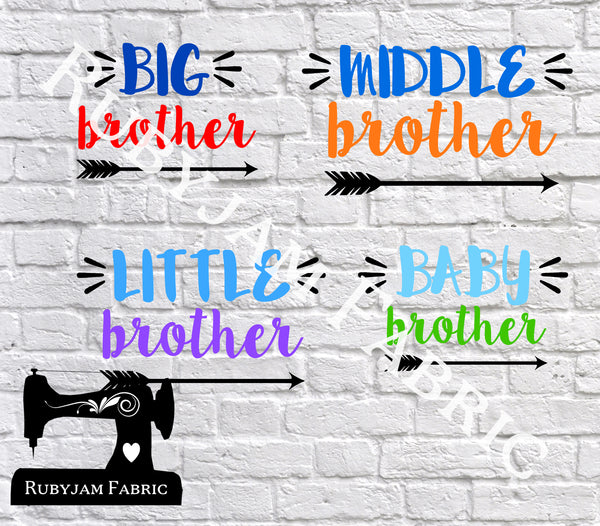 Brothers - Cutting File - SVG/JPG/PNG