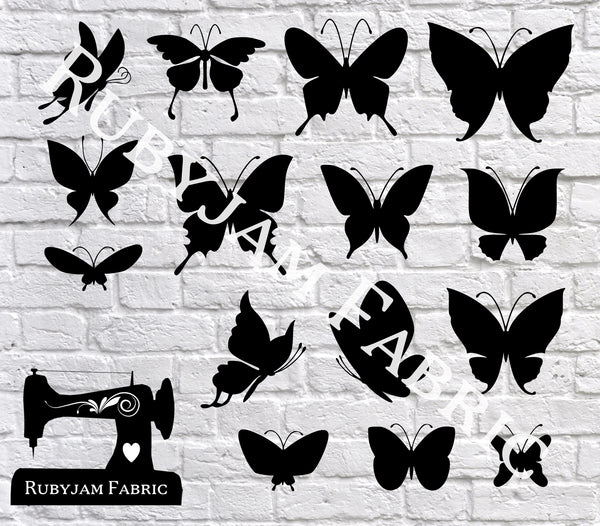 Butterflies - Cutting File - SVG/JPG/PNG