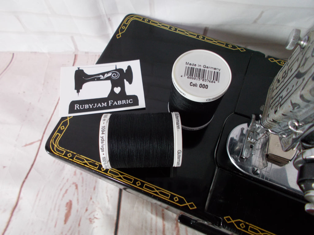 1000M Gutermann Sew-All - BLACK