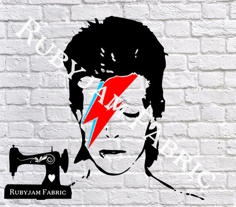 Ziggy Stardust David Bowie - Cutting File - SVG/JPG/PNG