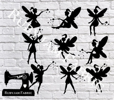 Fairies - Cutting File - SVG/JPG/PNG