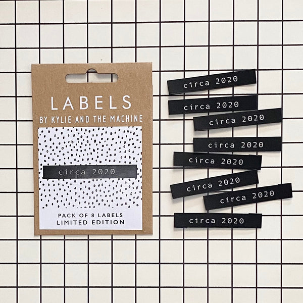 Circa 2020 - LIMITED EDITION - Labels by KatM