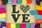 LOVE Pride Heart - Cross Stitch Pattern - Kitsch Stitch Studio