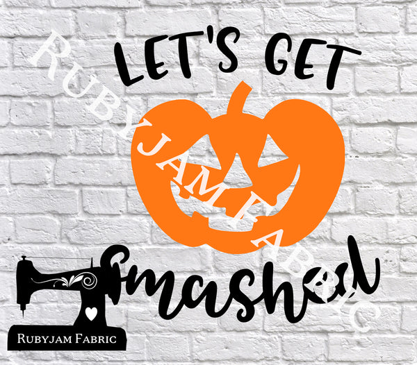 Halloween Let's Get Smashed - Cutting File - SVG/JPG/PNG