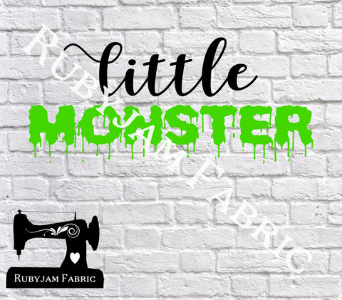 Little Monster - Cutting File - SVG/JPG/PNG