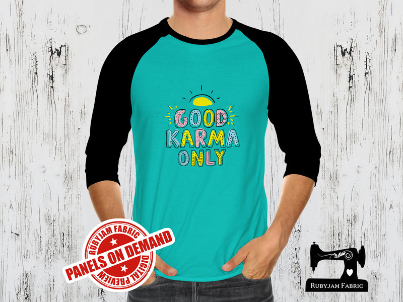 Good Karma Only - MINT - Panels On Demand
