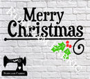 Merry Christmas - Cutting File - SVG/JPG/PNG