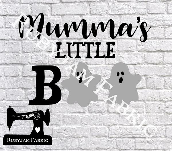Halloween Mumma's Little Boo - Cutting File - SVG/JPG/PNG