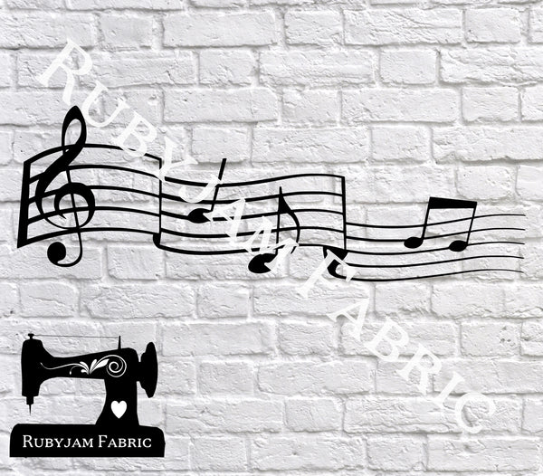 Music Notes - Cutting File - SVG/JPG/PNG