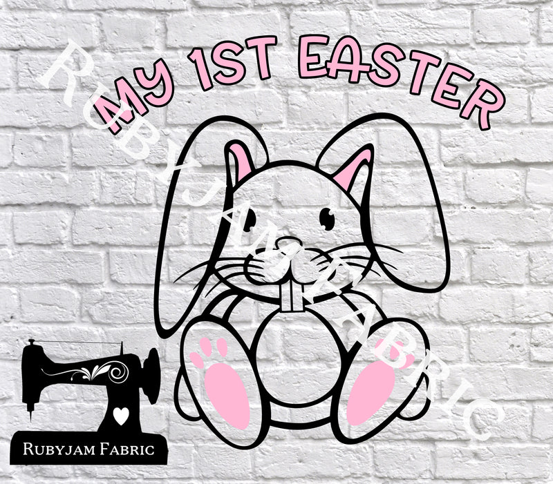 My First Easter - Cutting File - SVG/JPG/PNG