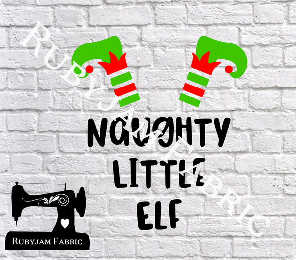 Naughty Little Elf - Cutting File - SVG/JPG/PNG