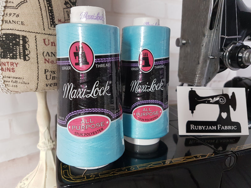 Maxi-Lock All Purpose Thread - Queens Turquoise