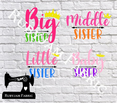 Sisters - Cutting File - SVG/JPG/PNG