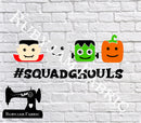 Halloween Squad Ghouls - Cutting File - SVG/JPG/PNG