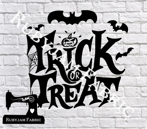 Trick Or Treat Bats - Cutting File - SVG/JPG/PNG